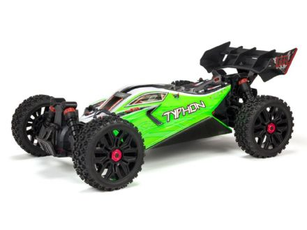 ARRMA Typhon 4X4 550 Mega Brushed 1/8TH 4WD Buggy Green ARA102694I